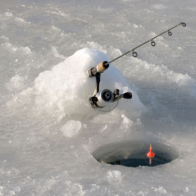 ice fishing hole - photo #29